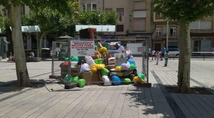 campaña residuos urbanos Mercadal