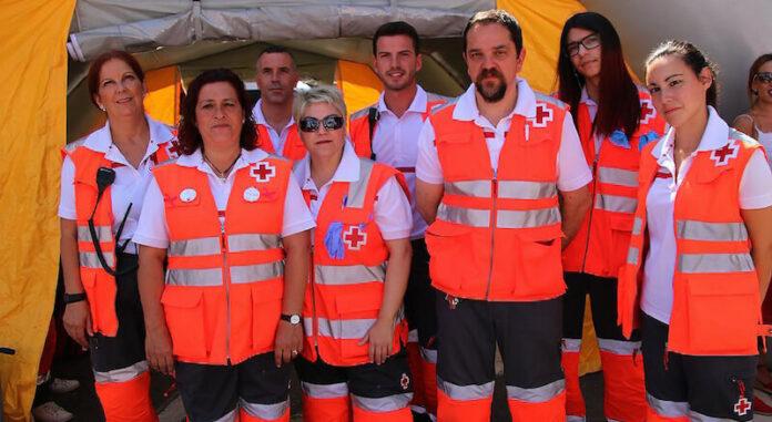dispositivo Cruz Roja Fiestas