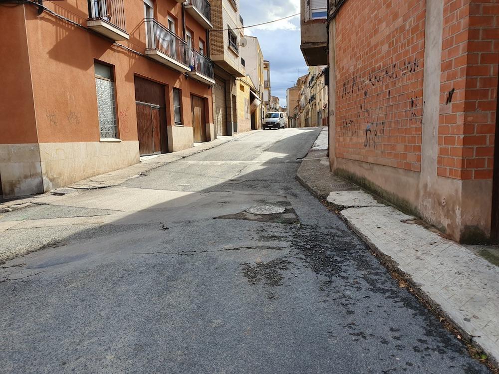 calle Eras antes de las obras