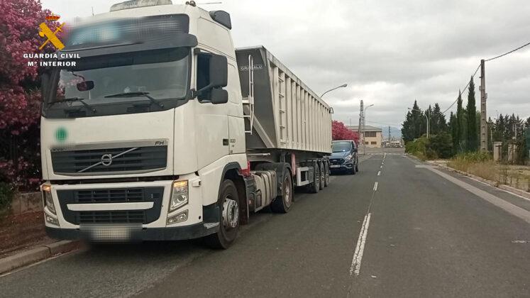 Camion implicado