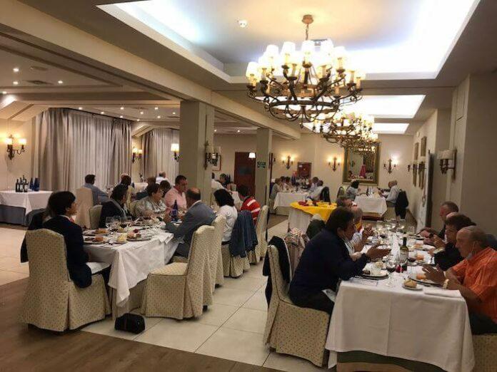 Cena del Club Taurino en el Parador