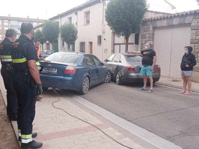 accidente calle garcía de nájera