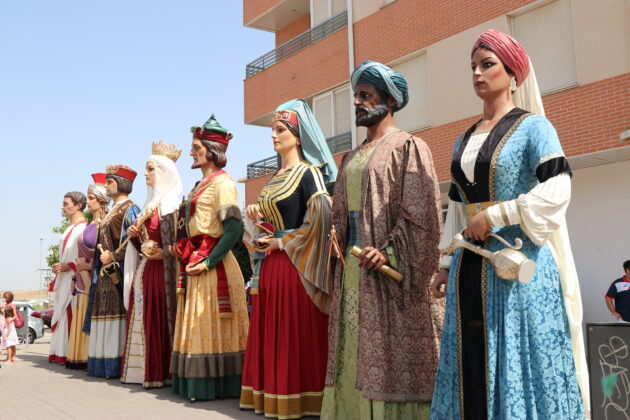 bailes gigantes Bimilenaria Cultural 1