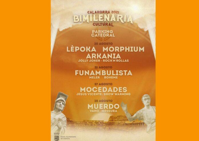 bimilenaria conciertos agosto 2021