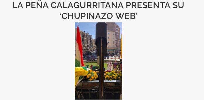 chupinazo web peña calagurritana