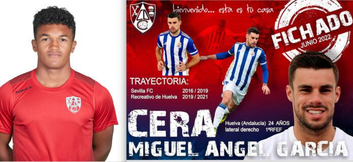 Omar de la Cruz y Miguel Ángel García Cera fichajes CD Calahorra