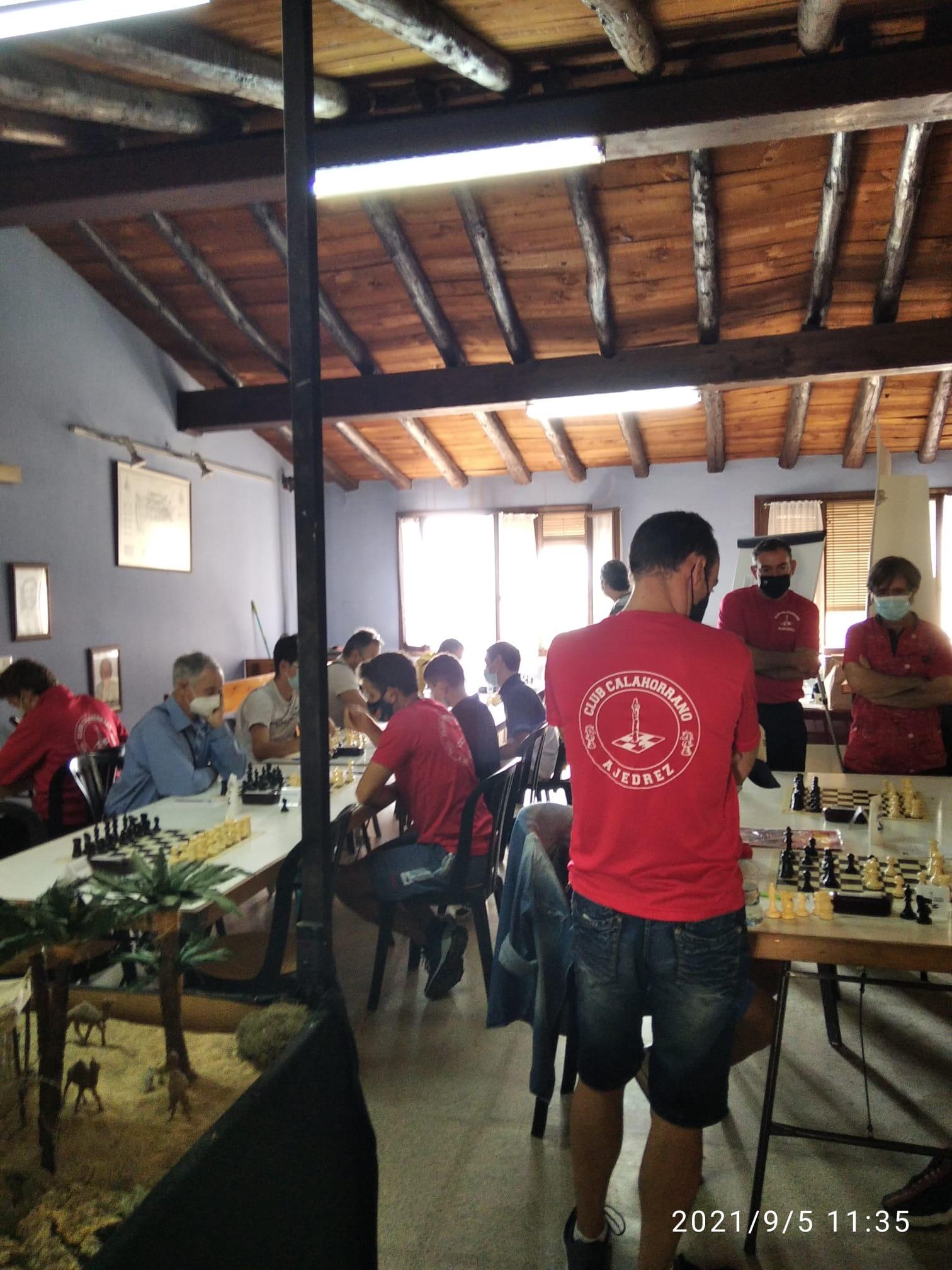 torneo social club calahorrano ajedrez 5-09-2021