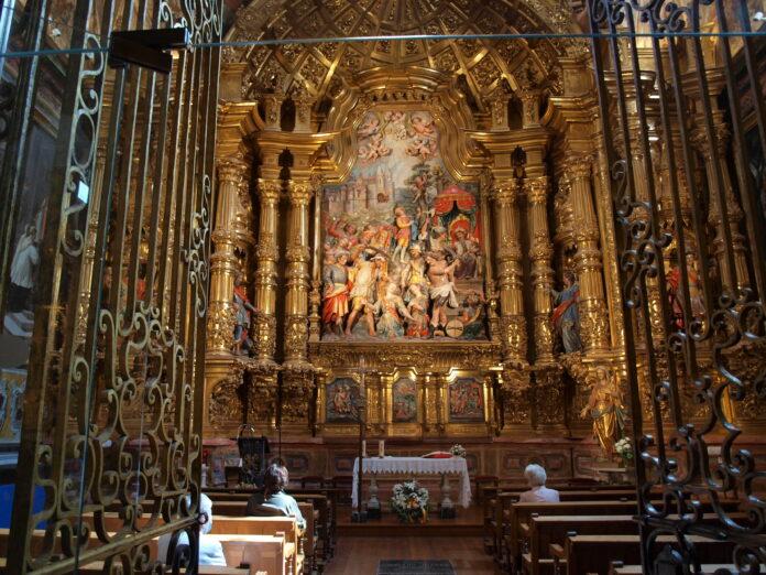capilla de los Santos en la Catedral de Calahorra