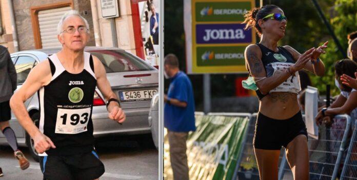 Maxi Velilla y Berta Pacual Maratón y 10K Logroño