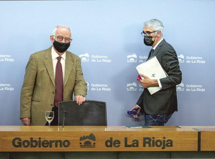 Pedro Uruñuela y Emilio Izquierdo