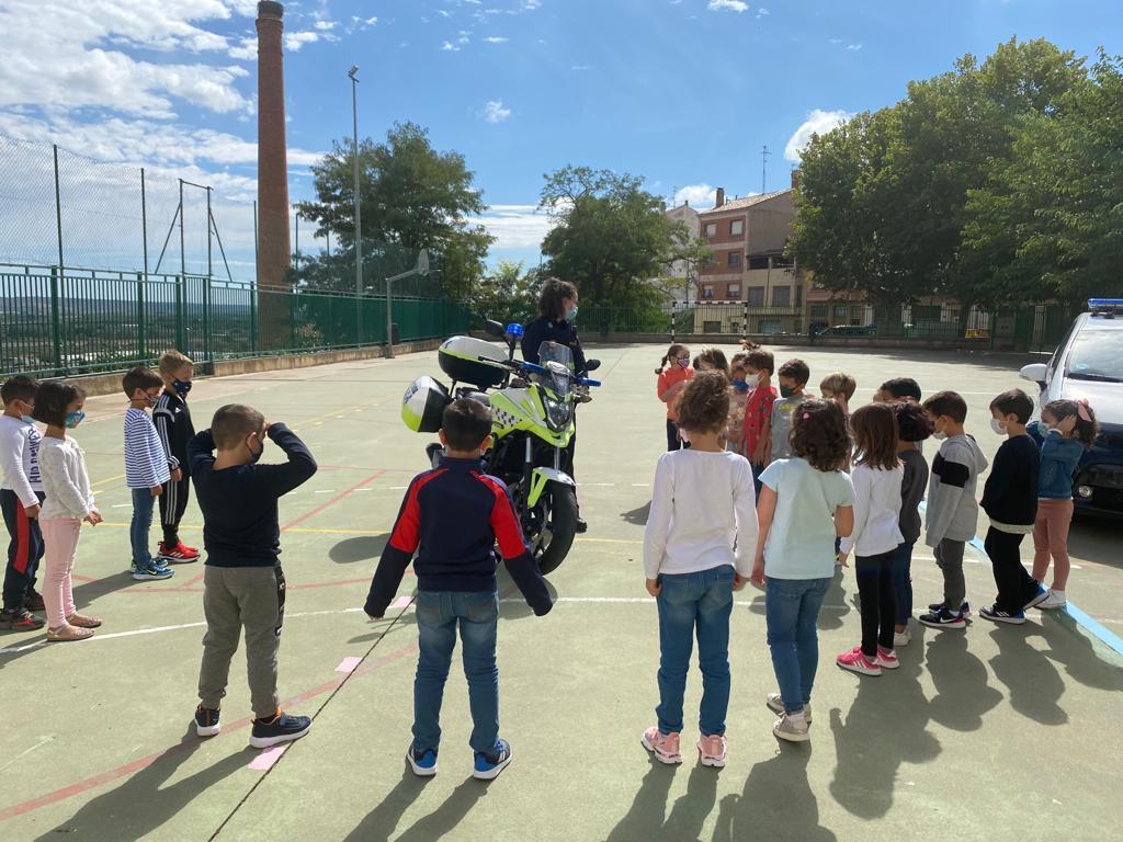 charlas Policía Local colegios 1
