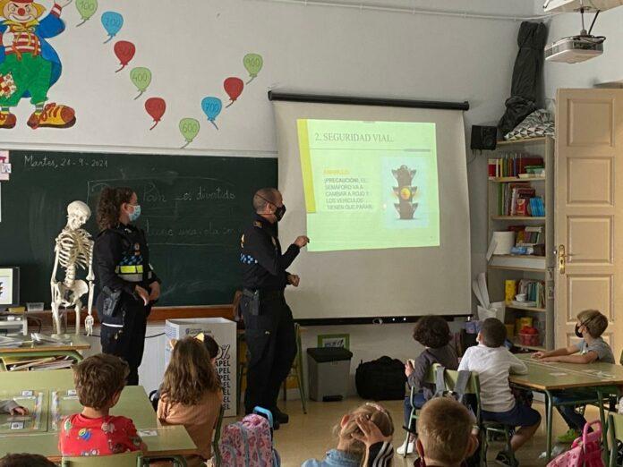 charlas Policía Local colegios 2