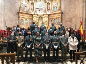 Corporación y Guardia Civil día del Pilar Catedral 2021