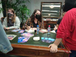 Lidia fermandez firma libros madrid