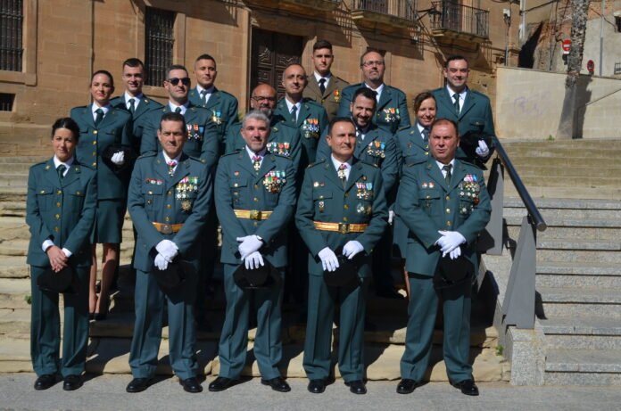 Guardia Civil fiesta del pilar 2021